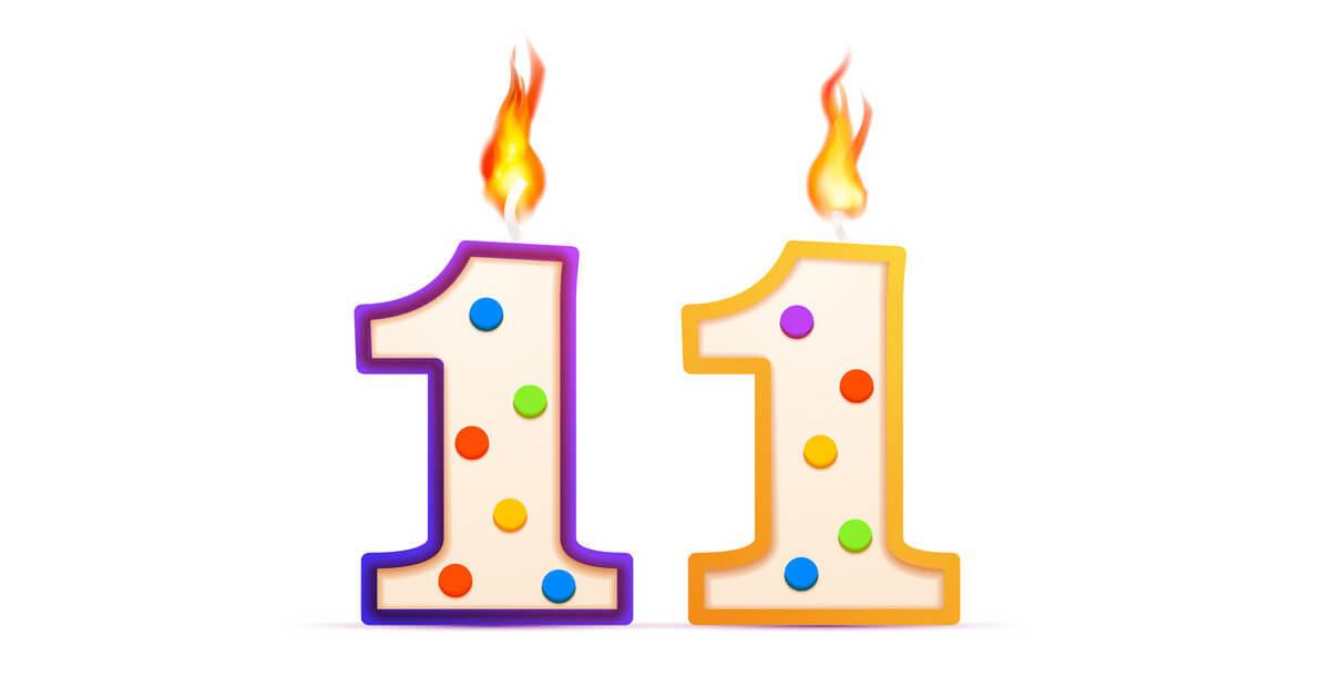 11º Aniversário